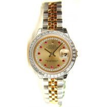 Rolex Datejust Lady's Steel & 18K Yellow Gold New...