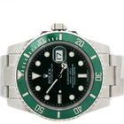Rolex Submariner Stainless Steel Green Dial Ceramic