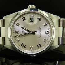 Rolex Oyster Perpetual Date Ref. 15200 Diamonds