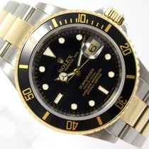 Rolex SUBMARINER DATE FROM 2008 - 18K GOLD /STEEL - M-SERIES