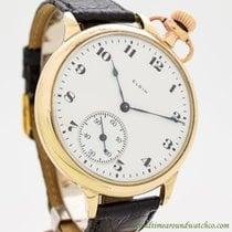Elgin Pocket Watch Conversion To Wrist Watch circa 1912