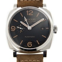 Panerai New  Radiomir Stainless Steel Black Automatic PAM00657