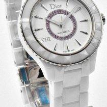 Dior VIII White Ceramic 38mm Automatic CD1245EFC001 Pink...