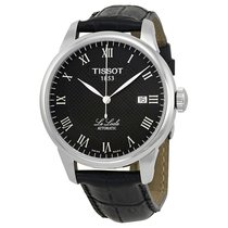 Tissot T-Classic Le Locle Automatic Black Leather Mens Watch...