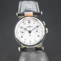 Lemania Rare Chronograph White Dial from ca.1930