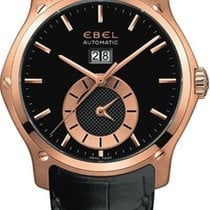 Ebel Classic Hexagon GMT Rose Gold
