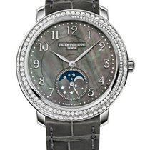 Patek Philippe [NEW] Moon Phase 4968G White Gold (Retail:HK$40...