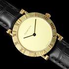 Tiffany Atlas Mens Midsize / Unisex Large Ladies Watch - 18K Gold