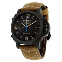 Panerai Luminor 1950 3 Days Chrono Flyback Black Dial Automati...