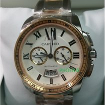 Cartier Calibre de Cartier Chronograph Rose Gold / Steel ...