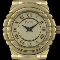 Piaget 18k Y/G Cream Roman Dial Tanagra Quartz Ladies 45031 M...