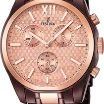 Festina Chrono F16858/1 Herrenchronograph Design Highlight