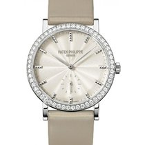 Patek Philippe 7120G-001 Calatrava Ladies 31mm Cream Guillouch...