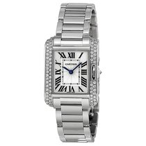 Cartier- Tank Anglaise Kleines Modell, Ref.  WT100008