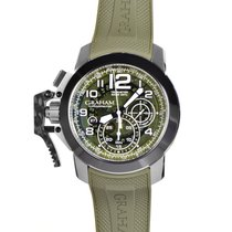 Graham Chronofighter Oversize Target Green 2CCAC.G03A.K94S