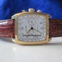 Eberhard & Co. Quadrangolo Chronograph in 750/18K mit...