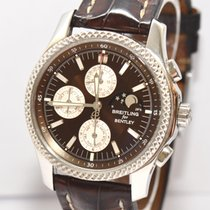 Breitling Bentley Mark VI Complications 19 Stahl Platin Mondphase