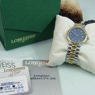 Longines Conquest Saphir Glas Box + Papiere Stahl / Gold...