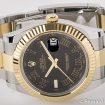 Rolex - Datejust II : 116333 black 'Ghost' dial on...