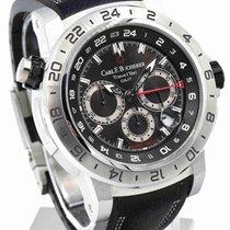 Carl F. Bucherer Carl F.  Patravi TravelTec II GMT Black Dial...