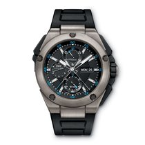 IWC iw386503 Ingenieur Double Chronograph Titanium 45mm Mens...