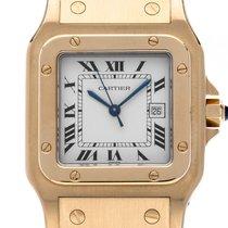 Cartier Santos GM großes Modell 18kt Gelbgold Automatik...