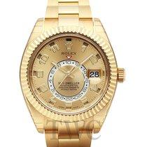 Rolex Sky-Dweller Gold colored/18k gold Ø42 mm - 326938