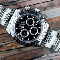 Rolex Daytona Stainless Steel Watch 116520 Black Dial 2008 In...
