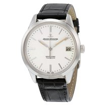 Jaeger-LeCoultre Geophysic Automatic Black Leather Mens Watch...
