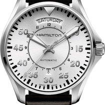 Hamilton PILOT DAY DATE AUTO H64615555 Herren Automatikuhr 80h...