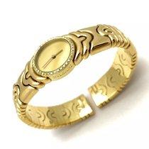Bulgari Parentesi 18k Solid Yellow Gold Ladies Bracelet Watch...