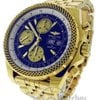 Breitling for Bentley GT K13362 18k Yellow Gold Watch