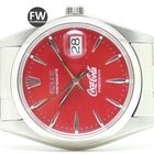 Rolex Oyster Date Coca Cola (Aftermarket) Esp. Edition