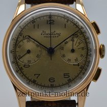 Breitling Premier Chronograph, 18ct. Rotgold, Ref. 782, Bj. 1940