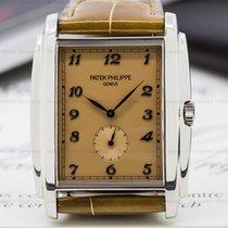 Patek Philippe 5124G-001 Gondolo 18K White Gold Manual Wind...