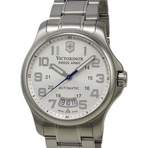 Victorinox Swiss Army VICTORINOX  – Army Officer Silver Dial...