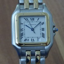 Cartier Panthere Medium Modell Stahl/18k 750 Gold revisionie