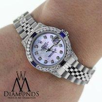 Rolex Ladies Rolex Datejust 26mm Jubilee Bracelet  Diamonds...