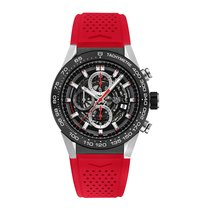 TAG Heuer Carrera 45mm Chrono Date Automatic Mens Watch Ref...