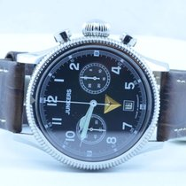 Junkers Herren Uhr Chrono Handaufzug Herren Uhr Stahl/stahl 40mm