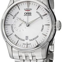Oris Artelier Automatic Small Second Pointer DOW Steel Mens...