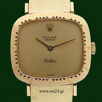 Rolex Cellini Lady 4082 Manual winding 18k Yellow Gold