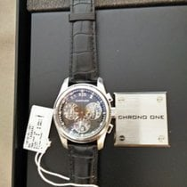 Chopard Chrono One watch in 18kt white gold, COSC certified,...