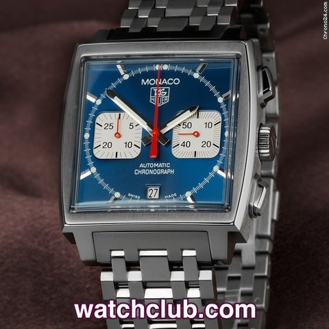TAG Heuer Monaco - All Steel 'Steve McQueen' [On Hold]