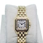 Cartier Panthere 18K  Gold Watch with Diamonds