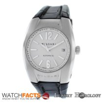 Bulgari Men's Midsize  Bvlgari  Ergon Steel Date Automatic