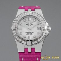 Breitling Galactic Diamonds 30MM Mother of Pearl dial  A71340...
