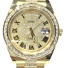 Rolex Day Date 2 Yellow Gold Diamond Dial 41mm