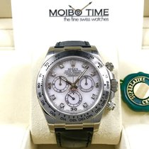 Rolex 18K White Gold Daytona Diamond Pink MOP Mother of Pearl...