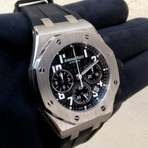 Audemars Piguet Royal Oak Offshore Chrono Stainless Black...